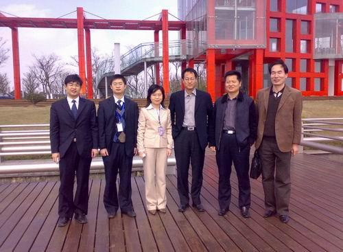 深圳集成电路设计产业化基地来访交流